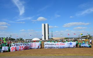 PL 2564 - Esforço total pela enfermagem: Sindisaúde-RS foi a Brasília para o 5A!