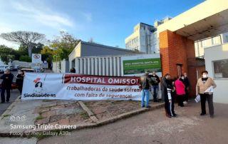 SANTA ANA – Juntas (os), vamos garantir segurança para as (os) trabalhadoras (es)!